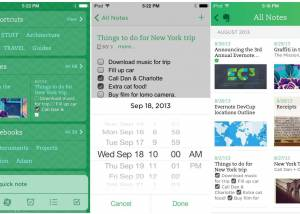 EverNote for iOS screenshot
